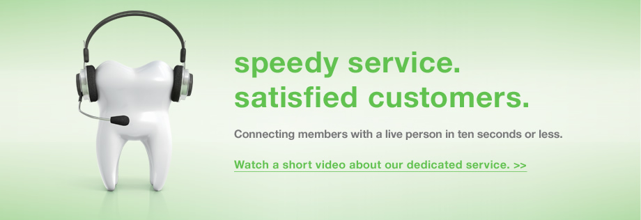 Watch a short video about our dedicated service.